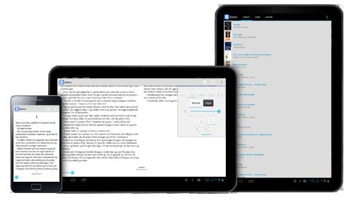 riidr bøger app på android