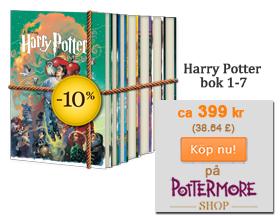 Den fullstandiga Harry Potter samlingen